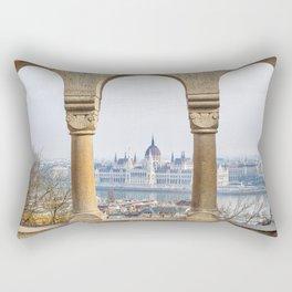Parliament Building. Rectangular Pillow
