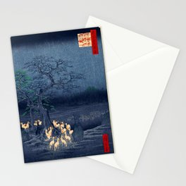 Foxfires at the Changing Tree Stationery Cards