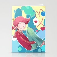 gumball Stationery Cards featuring Prince Gumball by Sei00