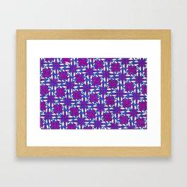 Purple Riot Framed Art Print