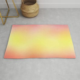 flag of spain - with cloudy colors Rug