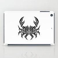 cancer iPad Cases featuring Cancer by Mario Sayavedra