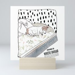 Home is Mini Art Print