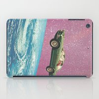 voyage iPad Cases featuring Bon voyage by flirst