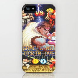GAME'S NOT FUCKIN OVER! pt. 1 iPhone Case