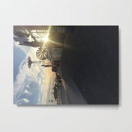 Coney Island Sunshie Metal Print