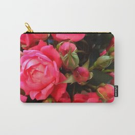 Pink Roses WC 3 Carry-All Pouch