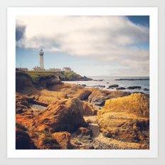 Pigeon Point Lighthouse Art Print