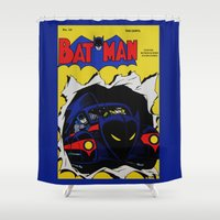 comic Shower Curtains featuring Comic 20 by Beastie Toyz