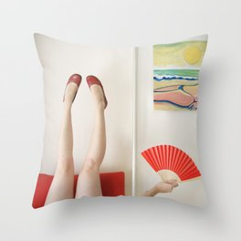 Fan Throw Pillow