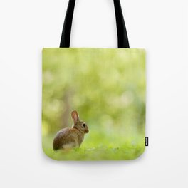 The Happy Rabbit Tote Bag