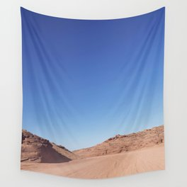 Four-Wheel-Driving Through the Pinks and Blues of Antelope Canyon 03 Wall Tapestry