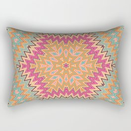 Ethnic geometric ornament Rectangular Pillow