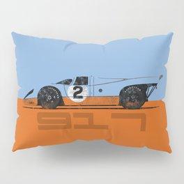 Vintage Le Mans race car livery design - 917 Pillow Sham