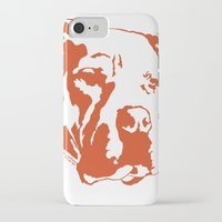 pitbull iPhone & iPod Cases featuring COACH - ORANGE by Kirk Scott