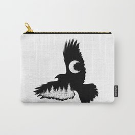 Winged Woods Carry-All Pouch
