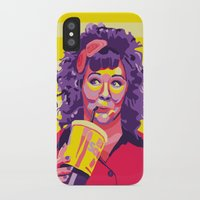 melissa smith iPhone & iPod Cases featuring Melissa McCarthy by Rudi Rodebush
