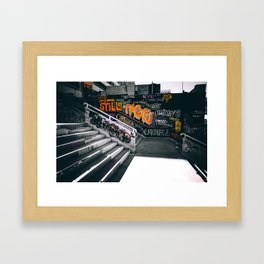 Graffiti II Framed Art Print