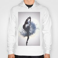 dancer Hoodies featuring Dancer by Judy Hung