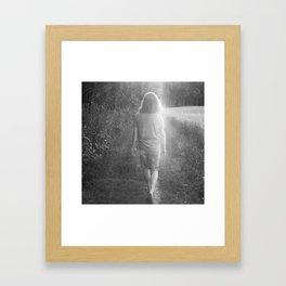 WALK Framed Art Print