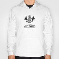 monty python Hoodies featuring MONTY PYTHON - Ministry of Silly Walks by La Cantina