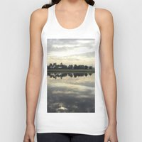 florida Tank Tops featuring Florida Sunrise by Stephanie Stonato