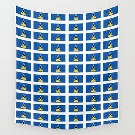 Sainte lucieFlag of Saint Lucia-Saint Lucia,Sainte Lucie,Saint Lucian,Lucien,Castries. Wall Tapestry