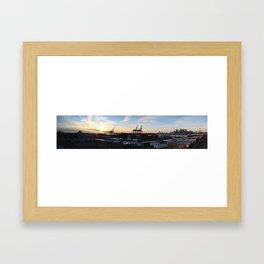 Red Hook Sunset Framed Art Print