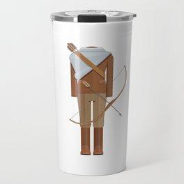 District Fighting Sci-Fi Film Costume Minimal Sticker Travel Mug
