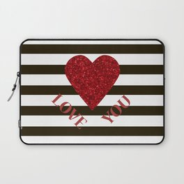 Love you Valentines day Laptop Sleeve