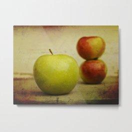 Apple pies Metal Print