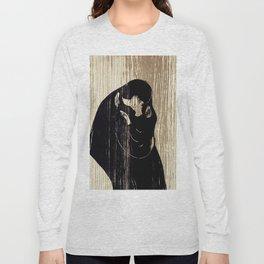 "Edvard Munch ""The Kiss"", 1897 Long Sleeve T-shirt"
