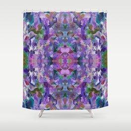 136 - Garden design Shower Curtain