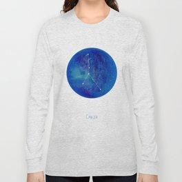 Constellation Cancer Long Sleeve T-shirt