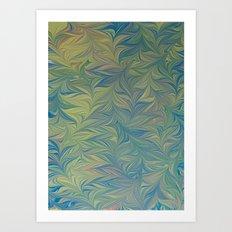 Marble Print #45 Art Print
