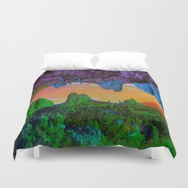 Garden of The Gods Multiverse Duvet Cover