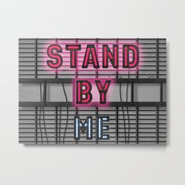 Stand By - Social Distance - Shutdown Metal Print