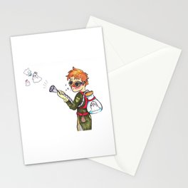 Ghost Hunter Stationery Cards