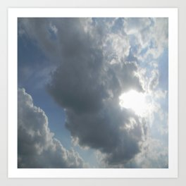 Clouds R Us Art Print