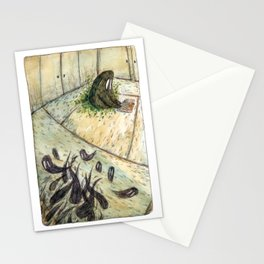 Kettle and the Garden Monsters - Parsley Merlin and Beatrice Page Stationery Cards