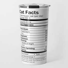 Cat Facts Travel Mug