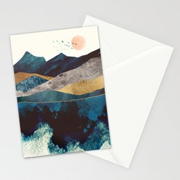 Blue Mountain Reflection Stationery Cards
