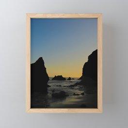 El Matador Beach Framed Mini Art Print