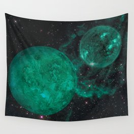 Cerulean the Wandering Star Wall Tapestry
