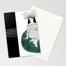 Calm inside Stationery Cards