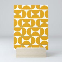 Modern Geometric Seamless Pattern Mid Century Mini Art Print
