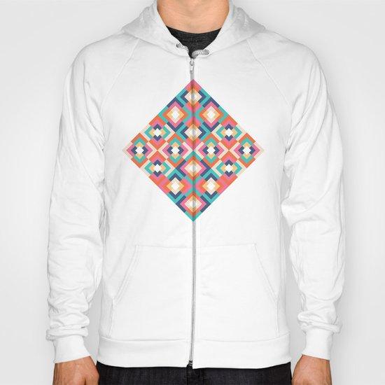 Colorful Geometric Hoody