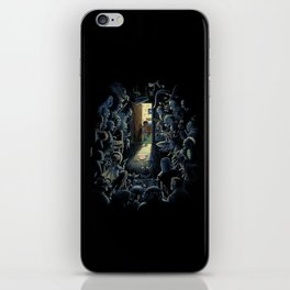 Be Afraid of the Dark iPhone Skin