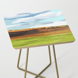 Farming Plain Side Table