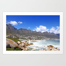 Lovely Cape Town, South Africa Art Print
